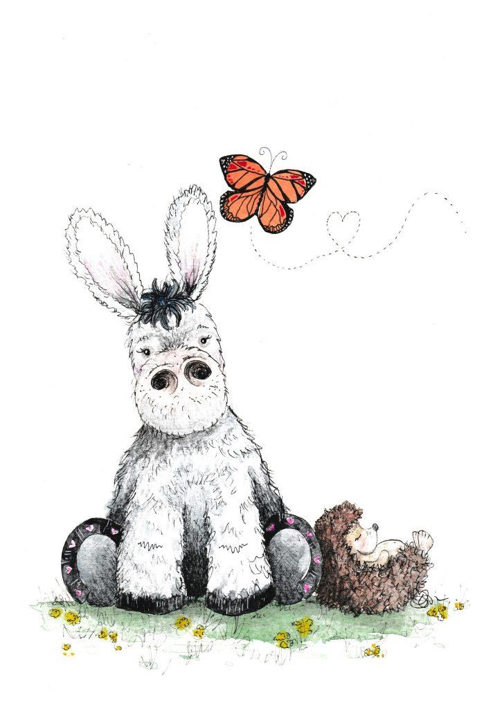 donkey illustration