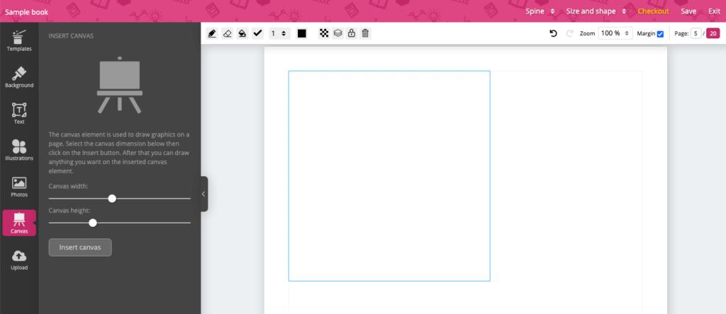 add canvas